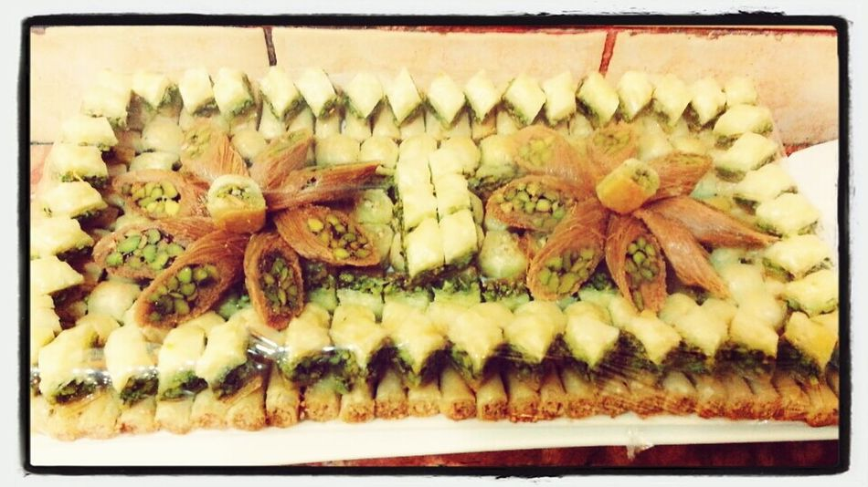arabic sweets. . Dessert Pastries Check This Out On A Diet