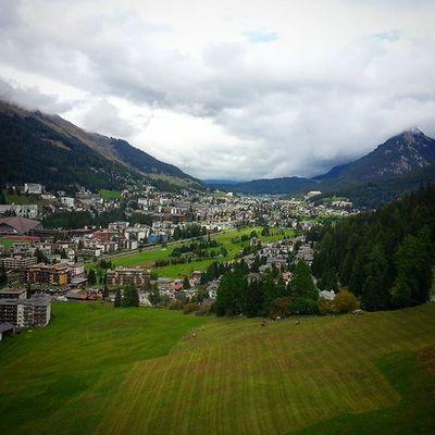 Auf Montage in Davos Schweiz Selten in einem so schönen Ort gearbeitet!