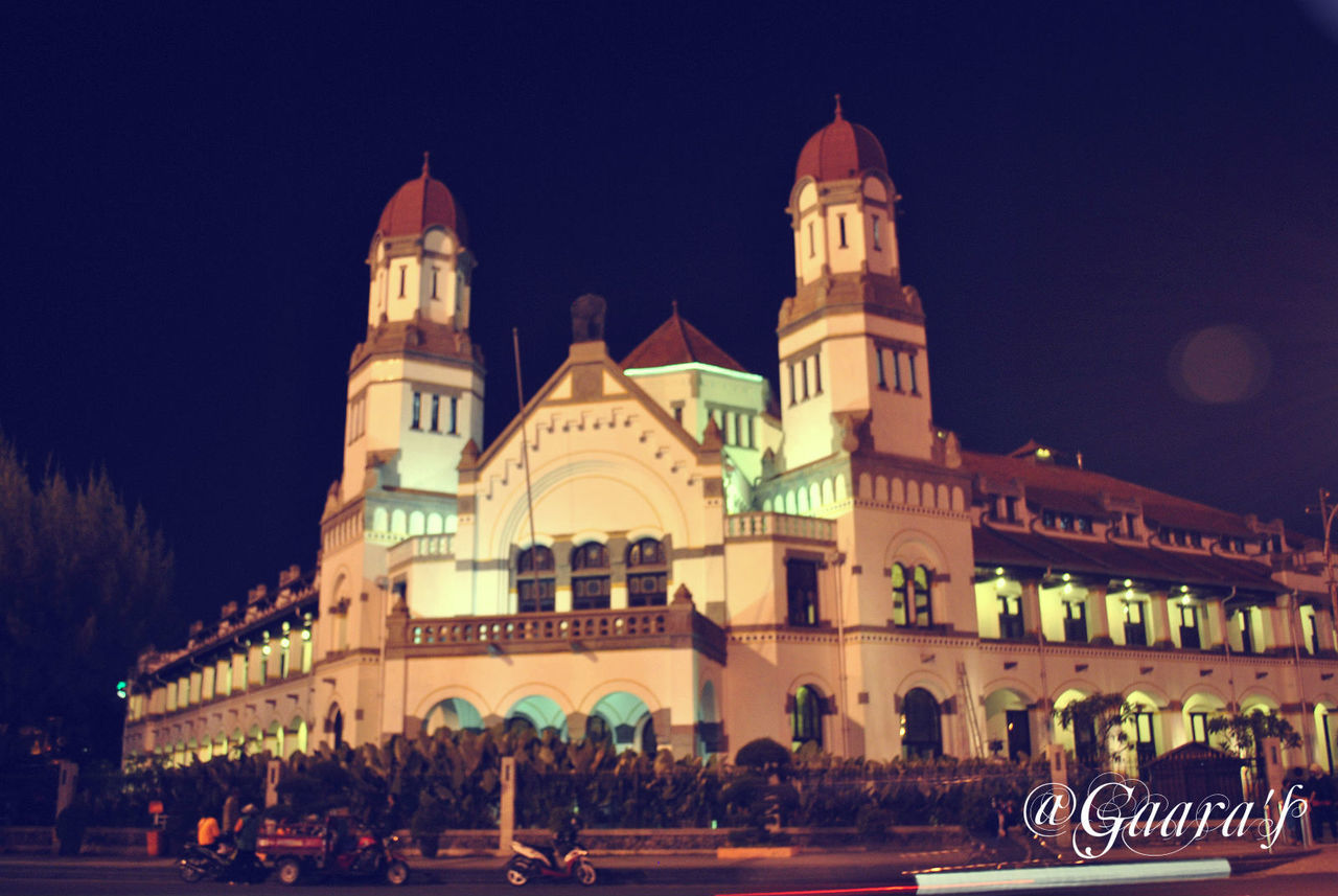 Architecture Illuminated INDONESIA Indonesia_allshots Indonesia_photography Lawangsewu Night Oldbuilding Pesonaindonesia Semarang Travel Destinations Wonderfulindonesia