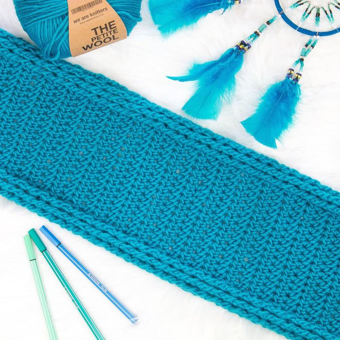 Working on a new scarf design, loving the textures! Blue Crochet Turquoise Weareknitters Yarn Yarnporn First Eyeem Photo