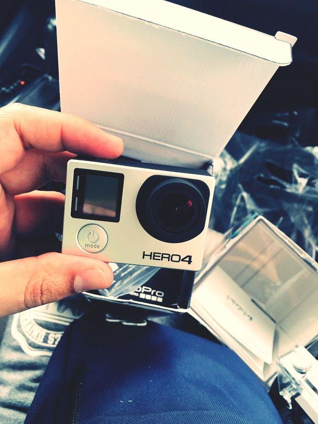 MyHero GoPro4..soon GoPro Karma.. Goprohero4 Gopro GoPrography GoPro Hero 4
