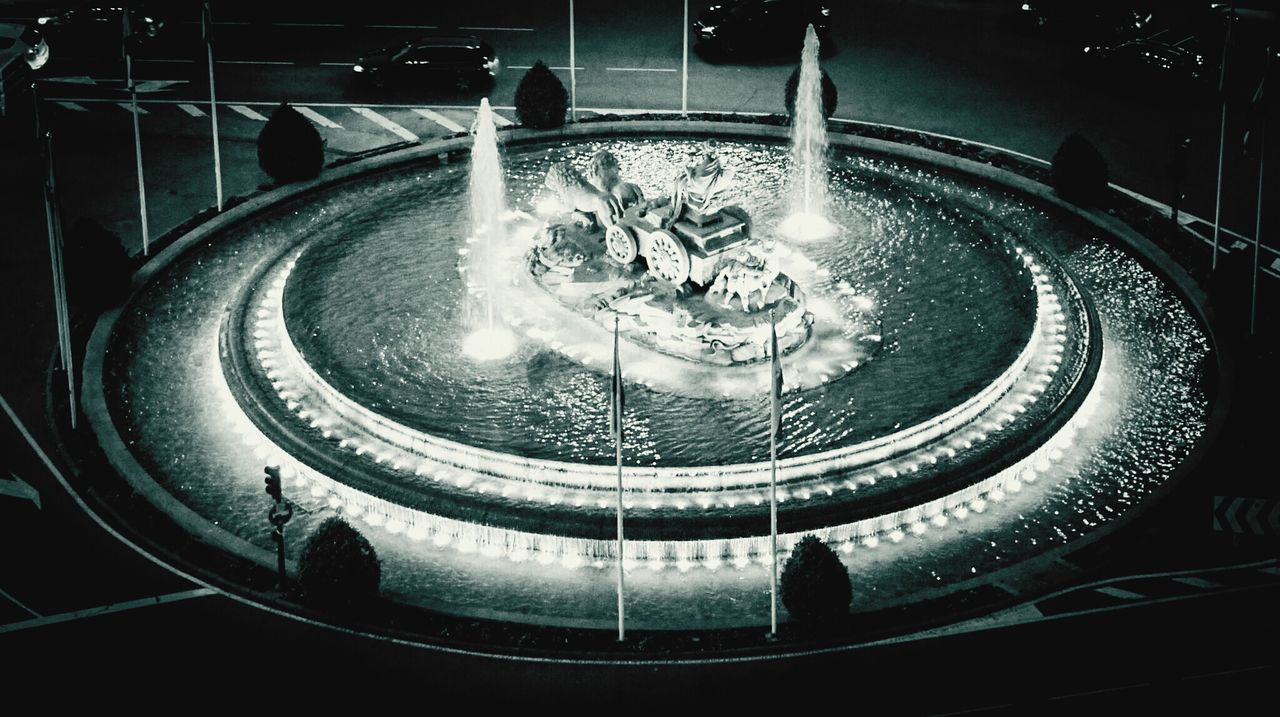 Illuminated Indoors  No People Day Madrid, España Madrid Spain Madrid, Spain EyeEm Gallery Check This Out Night City Travel Destinations Horse Cart Statue Cibeles CibelesPalace Fountain Fountain Plaza Fountain_collection Black And White Blackandwhite Blackandwhite Photography Bnw Bnw_collection