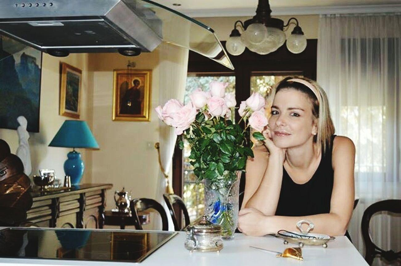 Pink roses & me Katarina