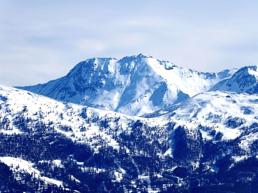 Views from Bardonecchia Snow Winter Mountain Cold Temperature Snowcapped Mountain Tranquil Scene Nature Scenics Tranquility Non-urban Scene Sky Beauty In Nature No People Outdoors Day