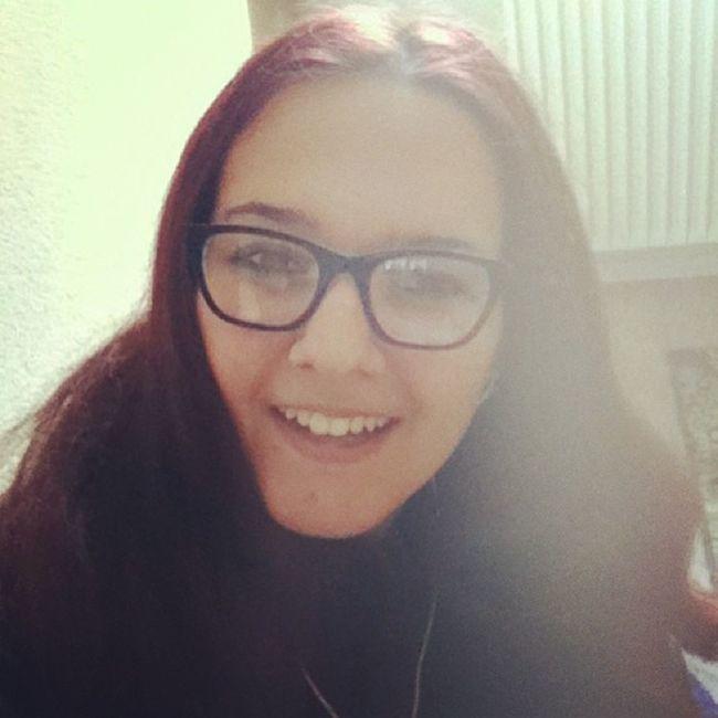 ? Smiling Happy Glasses Plummyhair whysuchabignose