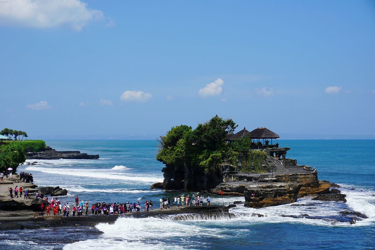 Beautiful stock photos of indonesia, Blue, Day, Group Of People, Horizon Over Water