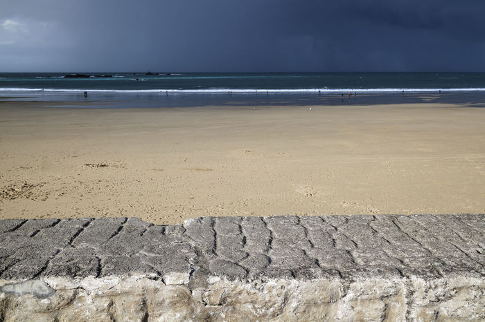 Storm on the sea Brittany Fine Art Photography France Rays Of Light Storm Stormy Weather Wave Beach Beauty In Nature Cloud - Sky Contrast Day Horizon Over Water Nature Outdoors People Sand Scenics Sea Shore Sky Storm Cloud Stormy Sky Tranquility Water