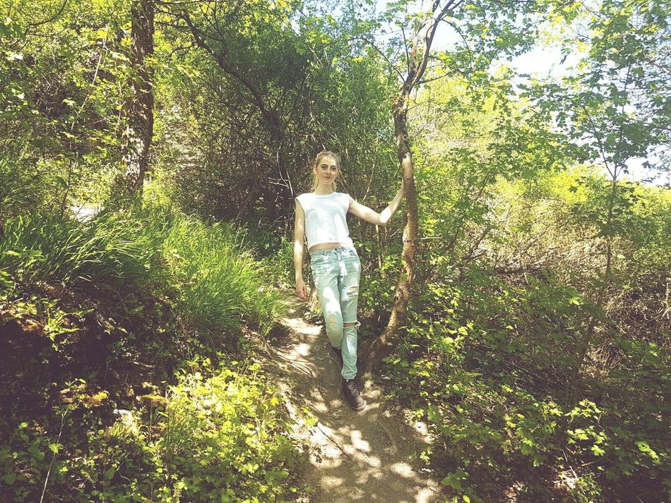 Fantastic Nature Myself Forrest Photography Forest Germany Russian Girl Pseudo Model Beutiful Day Beauty In Nature Trees Girl