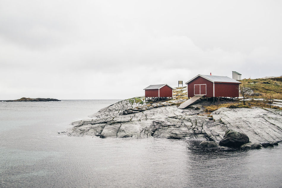 Beautiful stock photos of norway, Architecture, Beach Hut, Beauty In Nature, Building Exterior