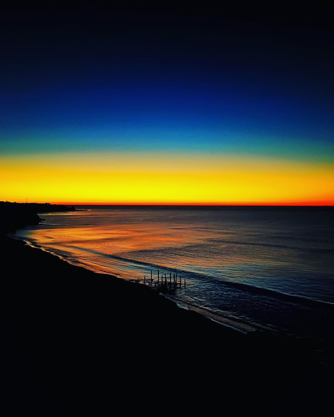 Sea Horizon Over Water Beauty In Nature Scenics Sunset Water Nature Tranquility Beach Idyllic Tranquil Scene Sky Outdoors No People Day