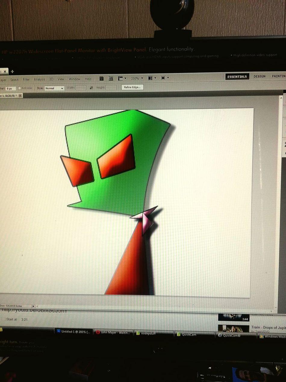 Fun Art Photoshopped Art, Drawing, Creativity Unfinished_art Zim