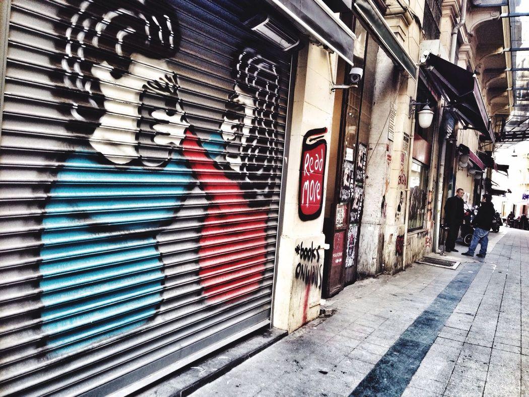 ıstanbul, Turkey Eyeemphotography EyeEm Best Edits Iphoneonly VSCO Nice Atmosphere Graffiti Graffitiart EyeEmbestshots