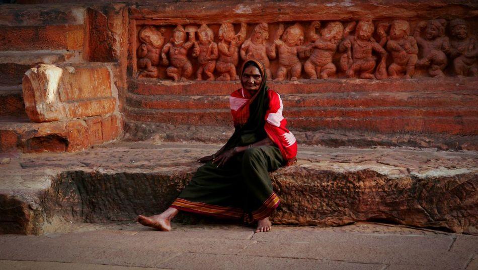 Woman Portrait Woman Who Inspire You Indian Woman Badami India Badami India Indian Culture  Indiapictures Karnataka The Portraitist - 2017 EyeEm Awards