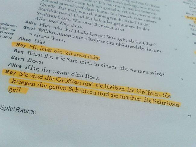 Ich knall euch ab Filmdreh peinlicher Text Kein Bock Schule My Life Schrott Love Schauspiel