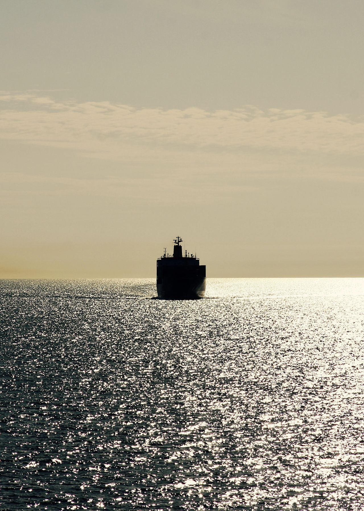cargo ship at sunset in the sea Baltic Sea Bulk Carrier Business Calm Cargo Ship Cruise Evening Freight Freighter Golden Hour Marine Nautical Vessel Outdoors Reflection Sea Ship Sky Sunset Surface Tranquility Transportation Travel Vessel Water Waterfront