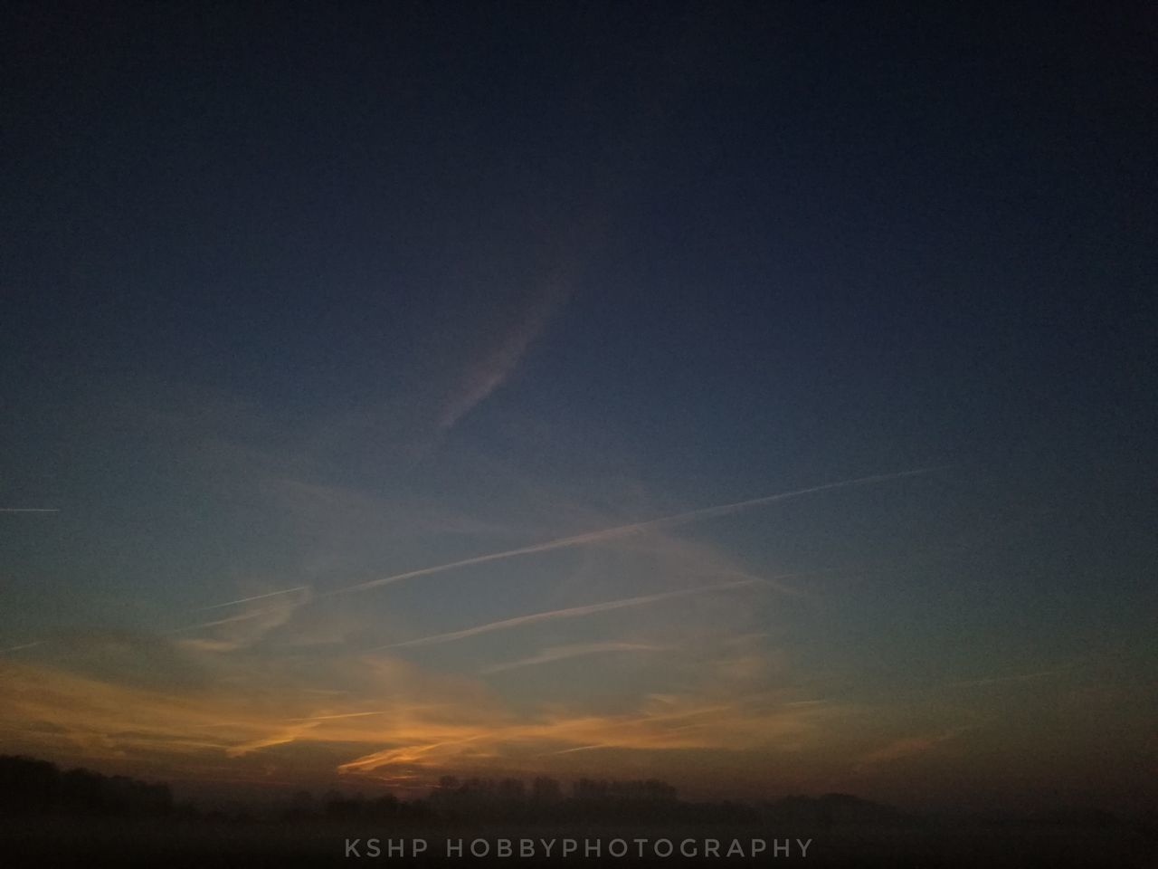 sky, sunset, no people, scenics, beauty in nature, nature, outdoors, vapor trail, architecture, day
