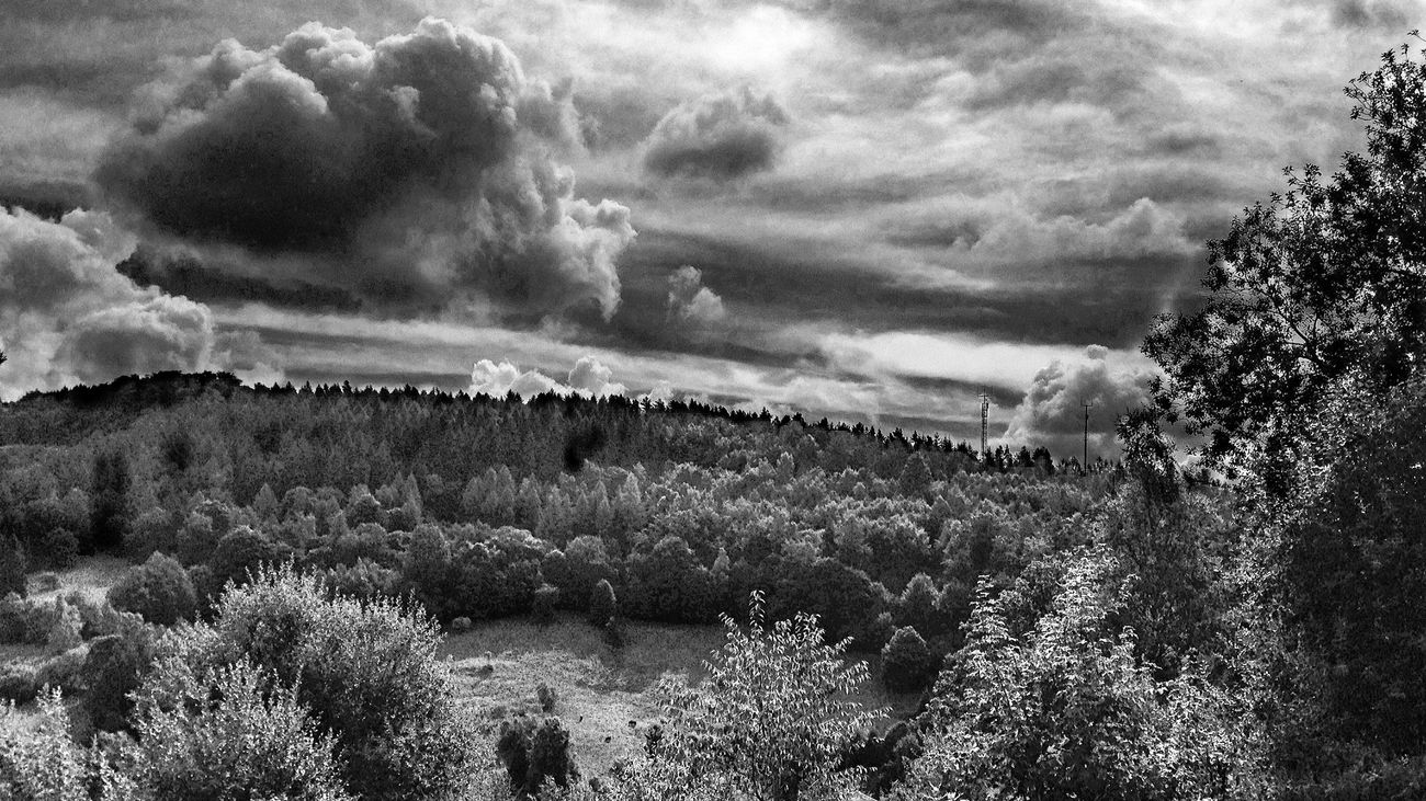 Skyporn Bw_collection Cloud And Sky EyeEm Best Shots - HDR
