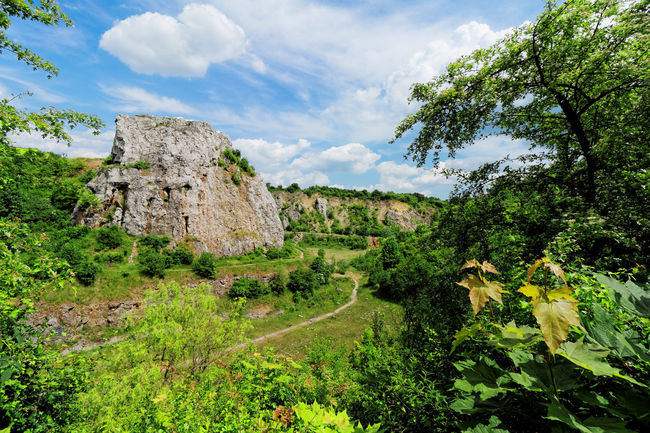 Kadzielnia - nature reserve in Kielce Beauty In Nature Cloud - Sky Day Green Color Idyllic Kadzielnia Kielce Landscape Limestone Mountain Nature Nature Reserve No People Non-urban Scene Outdoors Sky Stone Tranquil Scene Tranquility