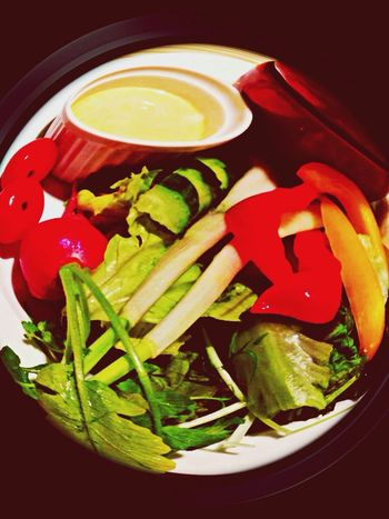 Bagna Cauda Vegetables Vivid