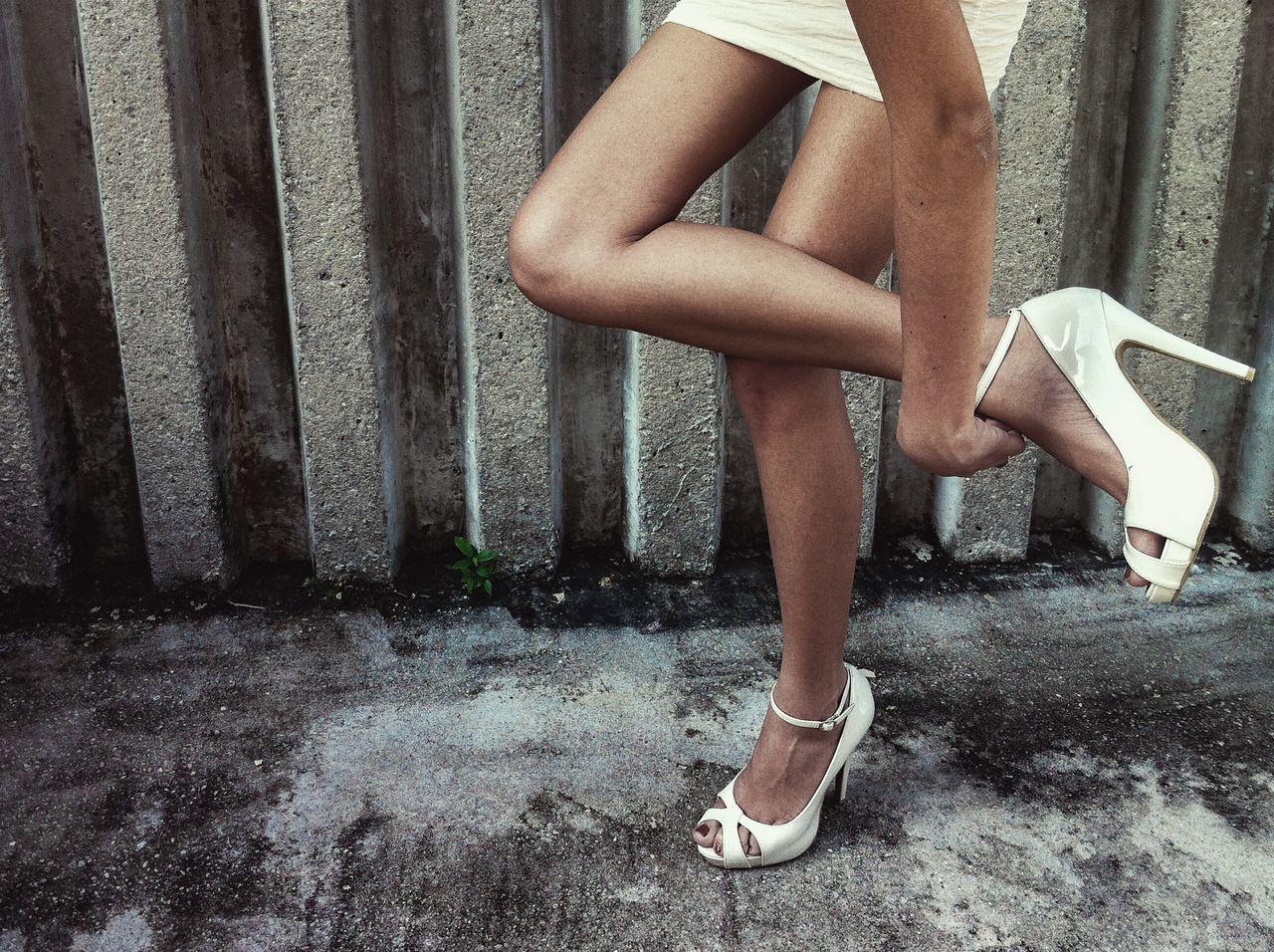Beautiful stock photos of fashion, human leg, human body part, one person, high heels