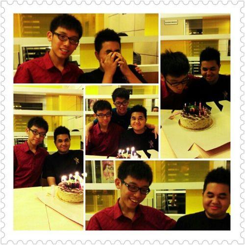 Birthday boys Almirul Waihong