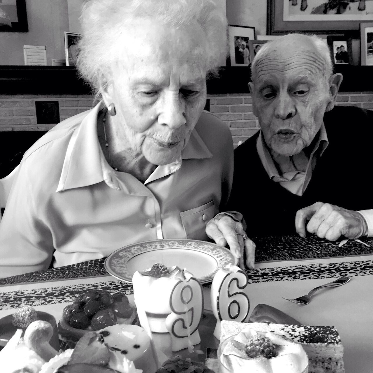 96 years old and still going strong. Bestgrandparents Goingfor100 HappyBirthday