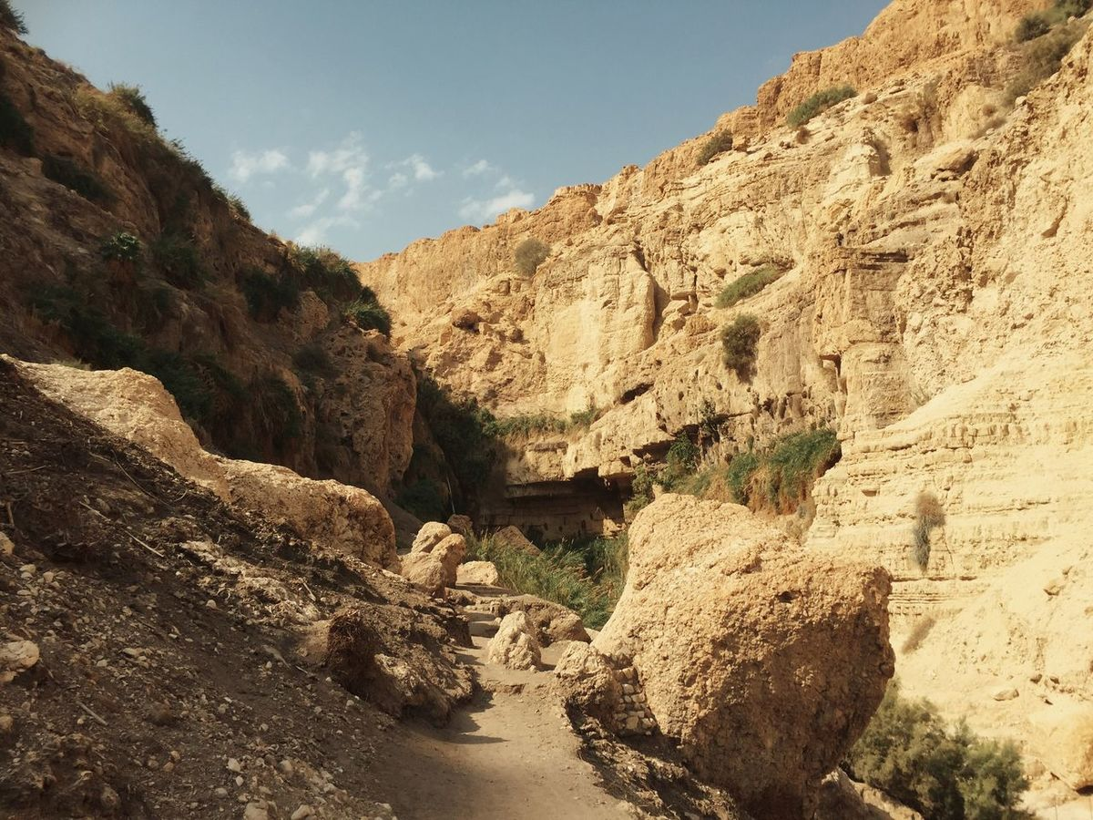 Eingedi NatureReserve Mountains Deadsea Israel IPhoneography
