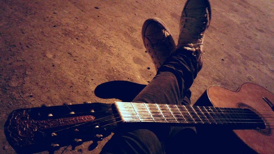 Guitar Music Instrument Legs Man Man Sepia Photography Art Is Everywhere EyeEmNewHere TCPM