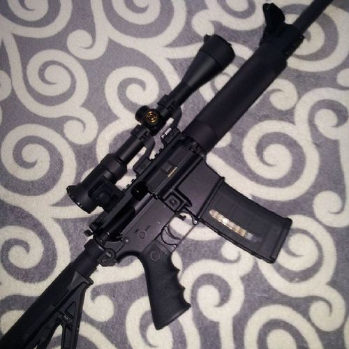 OlympicArms556mmMFR ready to gobtest fire and ajust the new BattleTestedEquipment Adjustablegasblock .... only allows enough gas to make the weapon cycle properly when adjusted correctly. . Also need to sight in new GDT45degreerapidtransitionsights and fine tune the simmonsmasterseriesscope .. can't wait...
