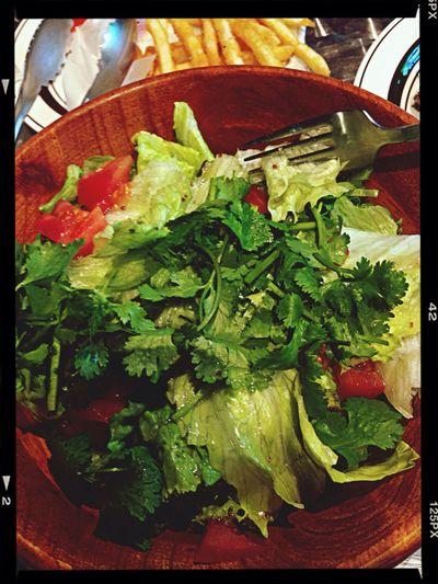 Thai Food Yammy!!  ผักชีสดสลัด Japan