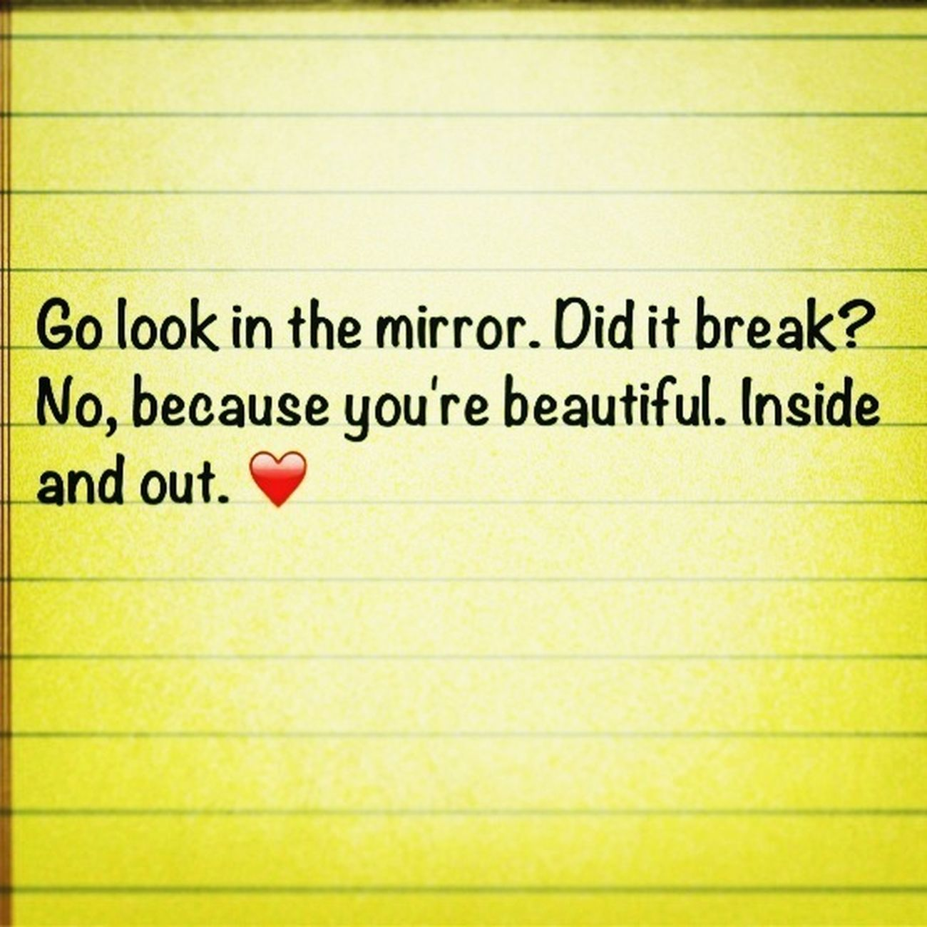 Your Beautiful. No Matter What!