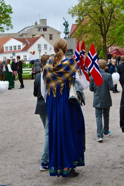 Flag Norge Norwegian National Day National Day Celebrations National Day Parade Celebration National Flag Norway 17 Mai Bunad Norsk Folklore 17 Th Of May