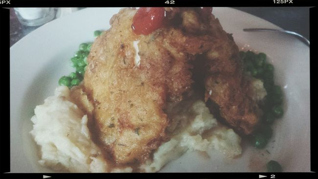 Good ole eating at Union Hill Kitchen First Eyeem Photo