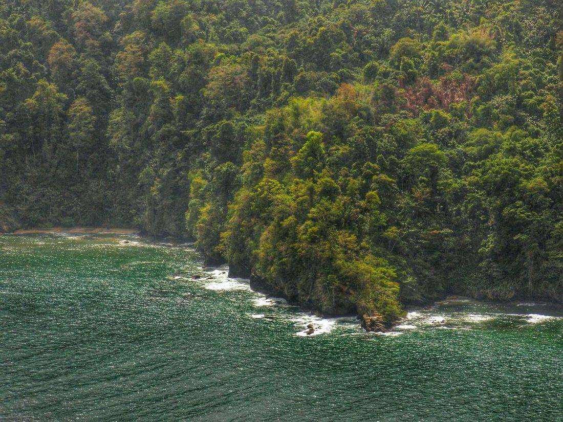 Hdrphotography Sea And Sky Coastline Trinidad And Tobago Maracaslookout
