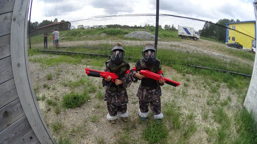 Kidz of paintball