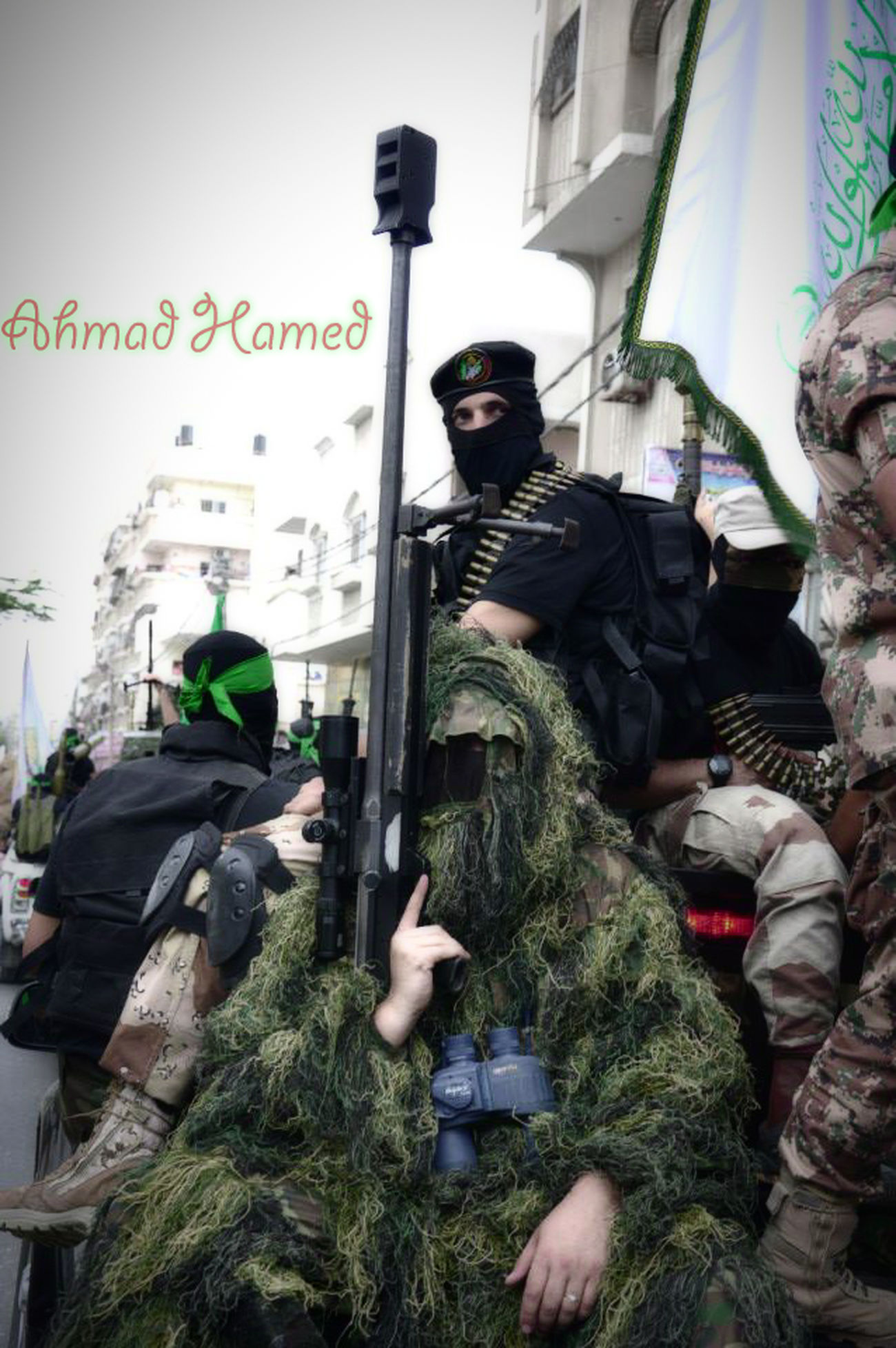 قناص قسامي Qassam