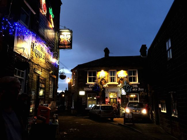 Glitch Christmastime Emily Bronte Haworth Tourism Yorkshire