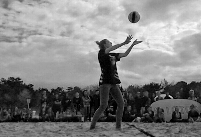 Magic! The Amazing Human Body Gdansk Blackandwhite Photography Bnw Volleyball
