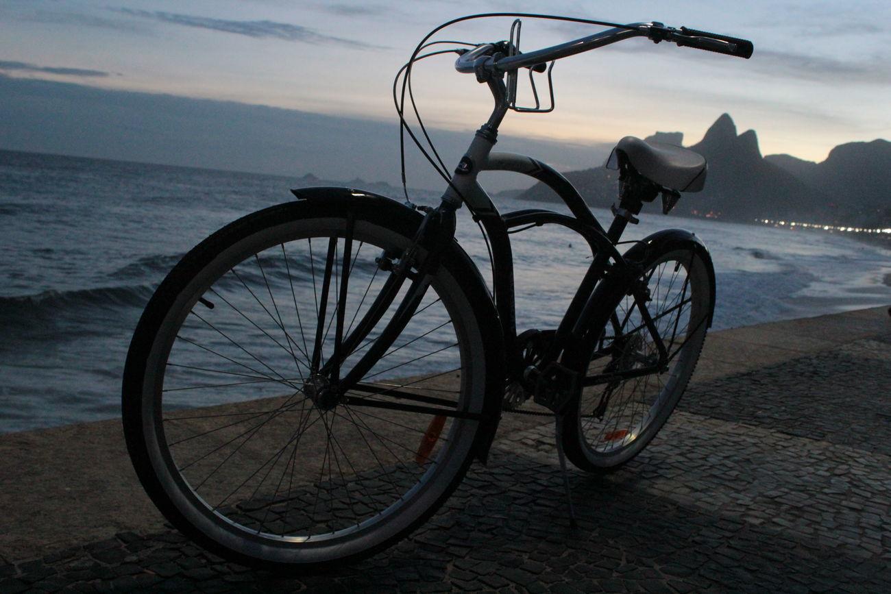 Beach Bicycle City City Life Cityscapes Ipanema Ipanema Beach Mode Of Transport Nature Outdoors RJ Brazil Sea Urban Urban Landscape Urban Lifestyle CyclingUnites