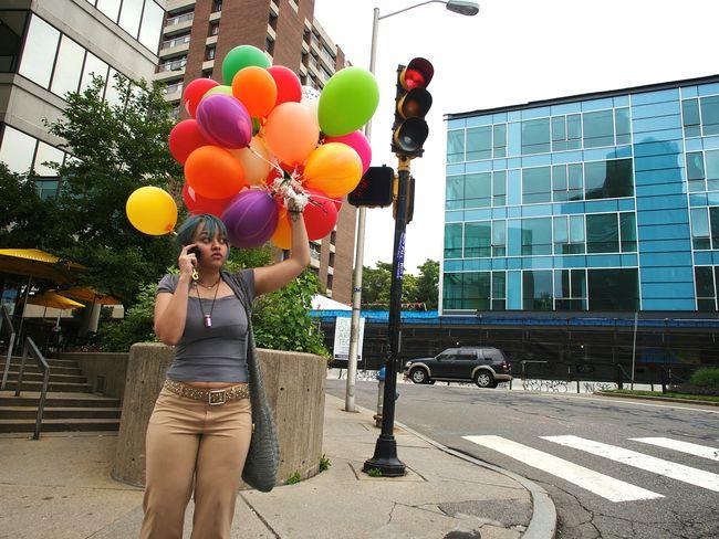 The Street Photographer - 2015 EyeEm Awards Streetphotography Balloons