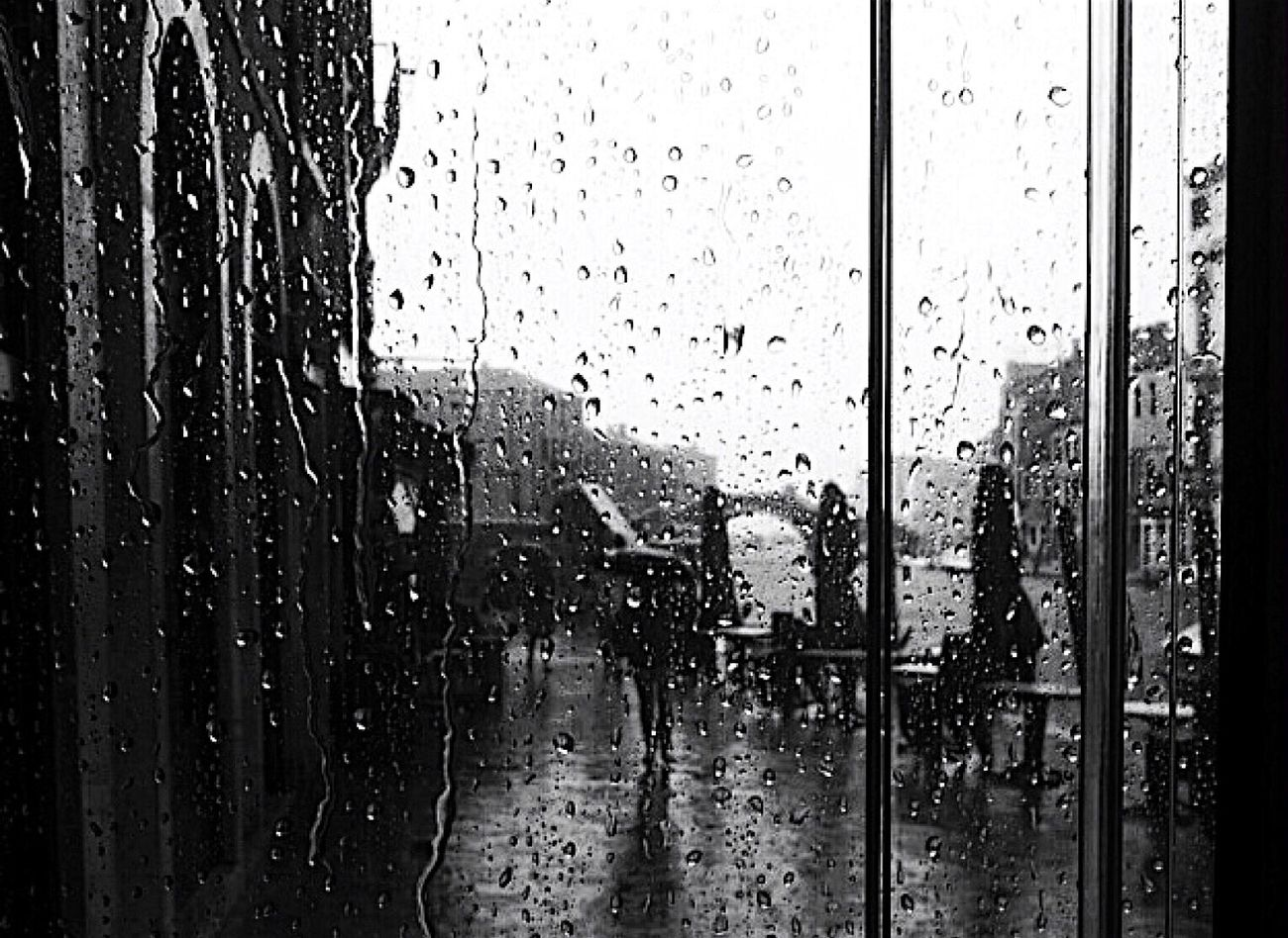 Venice☔️ Venezia Blackandwhite Photo Rain RainyDay Summer Venice, Italy University Secondhome