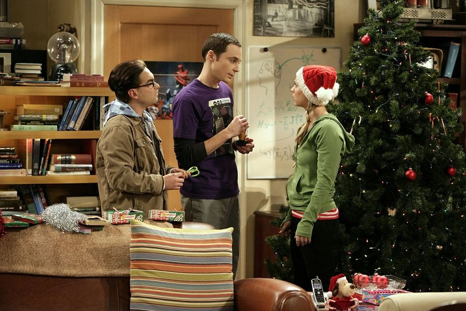 Penny: Hey, It's a big manu. There's two pages just for deserts. The Big Bang Theory  Season 3 Episode 11 The Maternal Congruence Watching my favorite tv show. SHELDON COOPER Penny Lenard Hoffstader