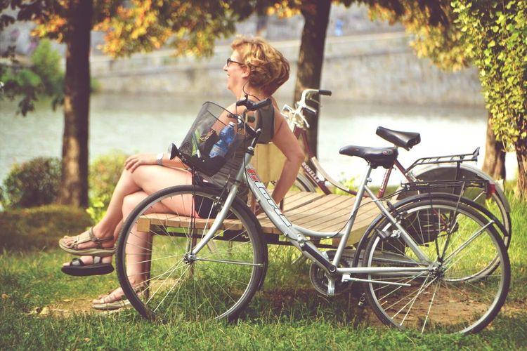 Citybike Torino Italy Laugh