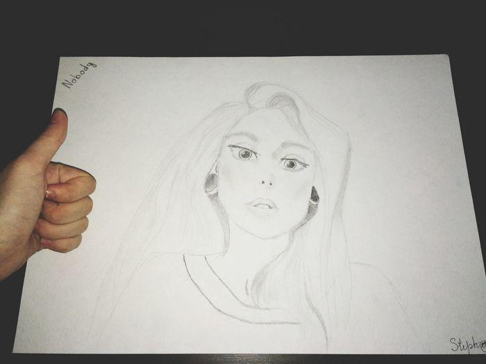 Eye Girl EyeEm Best Shots Drawing EyeEm Best Shots - Black + White Working Work StephanieRichie 👸🏼23 of August✨
