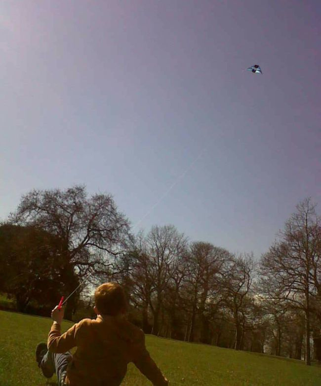 Flying A Kite Greenwich Park Funtimes