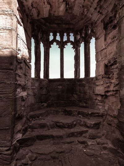 Marmion Tower West Tanfield Ruins Historical Building Historic Building Window