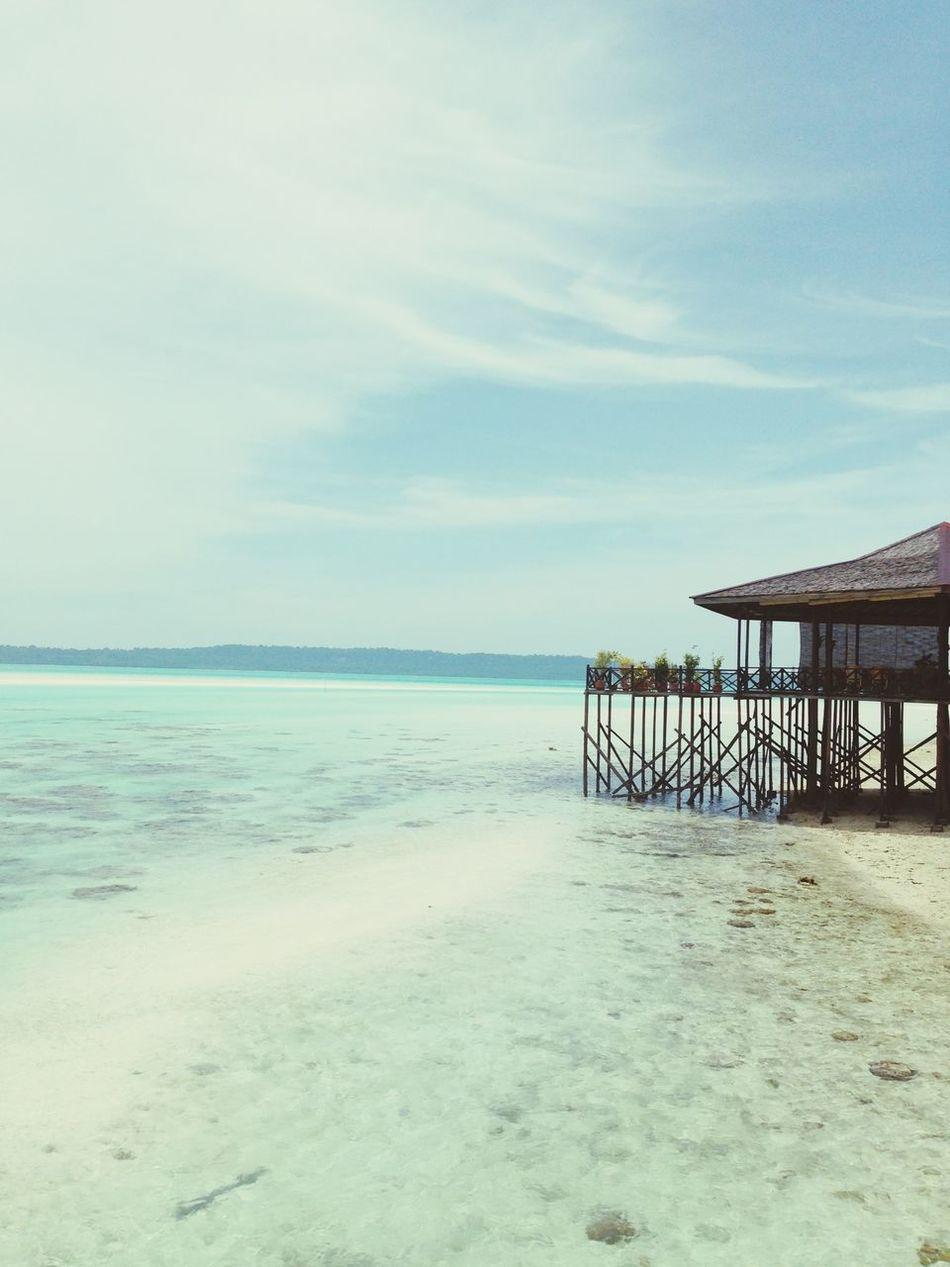 Paradise in earth Maratua Island