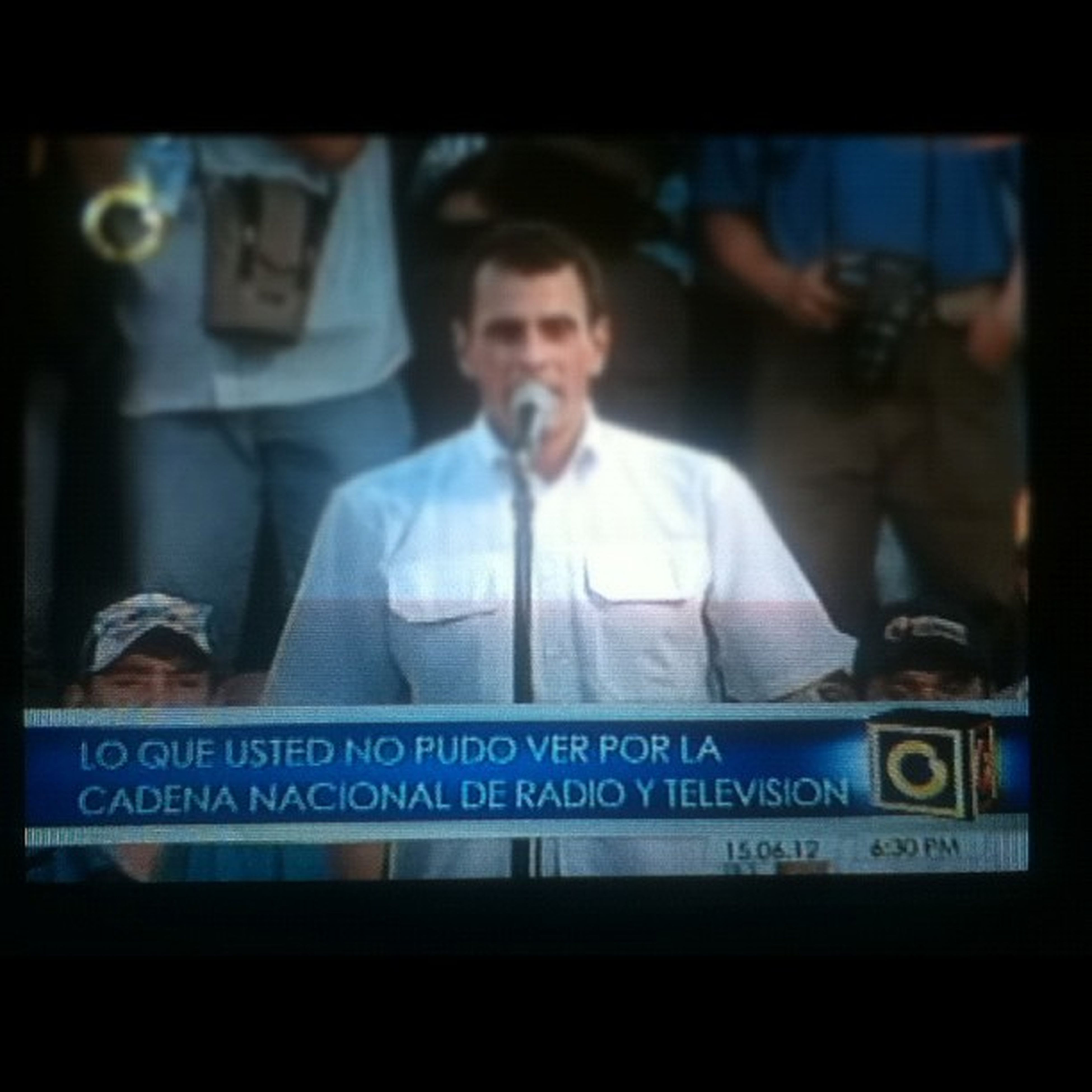 Globovisión siempre tan ingeniosos jajaja 