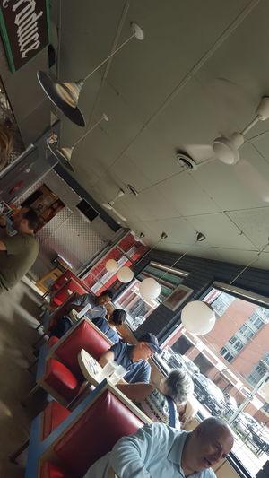 A vintage diner on Richmond Street East Enjoying Life