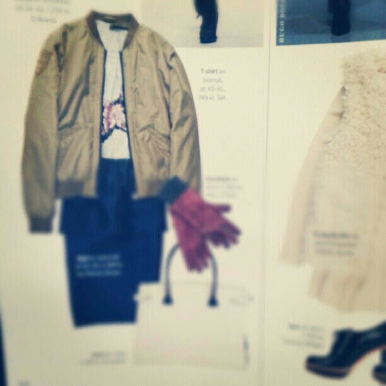 Dbrand Fashion Mode Dbrand .seBlogg Magazine Damernas Värld PR - d.brand Bomber